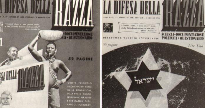 Οι Εβραίοι στο στόχαστρο του καθεστώτος Μουσολίνι, Δημήτρης Δεληολάνης
