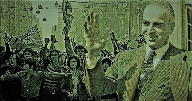 Στον Εθνάρχη δεν άρεσαν διαδηλώσεις και Πολυτεχνεία, Βαγγέλης Γεωργίου