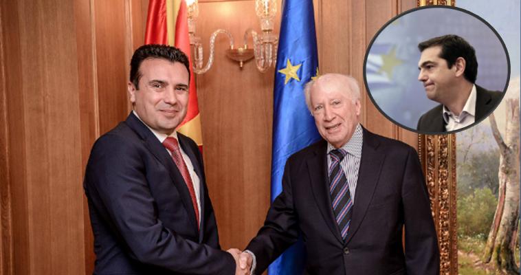 Η παρελκυστική στάση, σε συνδυασμό με την επίδειξη επιφανειακής μετριοπάθειας ο πρωθυπουργός της ΠΓΔΜ Ζόραν Ζάεφ στριμώχνει την Αθήνα στο πεδίο των διεθνών εντυπώσεων. Γράφει ηΝεφέλη Λυγερού – Η Αθήνα δεν μπορεί πλέον να κρύψει τη δυσφορία της. Έχει καταλήξει στο συμπέρασμα ότι πίσω από το μειλίχιο ύφος και τις φιλικές διακηρύξεις του Ζάεφ κρύβεται μία σκιώδης στρατηγική. Η αλήθεια είναι ότι ο πρωθυπουργός της ΠΓΔΜ έχει επιδείξει μία στάση «είπα ξείπα» που εύλογα δημιουργεί ανησυχία. Ενώ στη συνέντευξή του […]