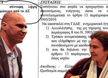 Καυτά πορίσματα ενώπιον του υφυπουργού Πολιτισμού, Μάκης Ανδρονόπουλος