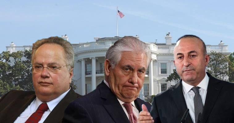 Σύνταξη SLpress.gr – Τριμερής συνάντηση Κοτζιάς-Τίλλερσον-Τσαβούσογλου στην Ουάσιγκτον «μαγειρεύει» για το αμέσως επόμενο διάστημα η αμερικανική διπλωματία, σύμφωνα με διπλωματική πηγή. Η συνάντηση δεν έχει ακόμα οριστικοποιηθεί, αλλά -κατά τις ίδιες πληροφορίες- οι σχετικές συνεννοήσεις βρίσκονται στο τελικό στάδιο. Η αμερικανική διπλωματία επιχειρεί σ' αυτή τη συνάντηση να διαμορφώσει ένα πλαίσιο συμπεριφοράς των δύο πλευρών, προκειμένου να πέσει η θερμοκρασία στις ελληνοτουρκικές σχέσεις και να αποτραπούν επεισόδια, όπως εκείνο στα Ίμια, αλλά και το αντίστοιχο στον Έβρο. Στο τραπέζι θα […]