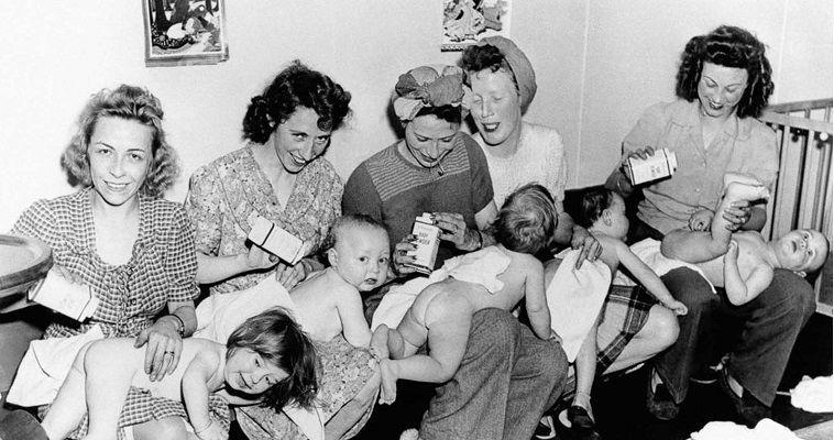 Το baby boom του B' Παγκόσμιου Πολέμου σε φωτογραφίες