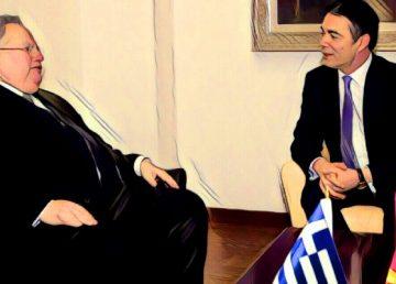 Βήμα σημειωτόν στην επίσκεψη Κοτζιά στα Σκόπια, Νεφέλη Λυγερού