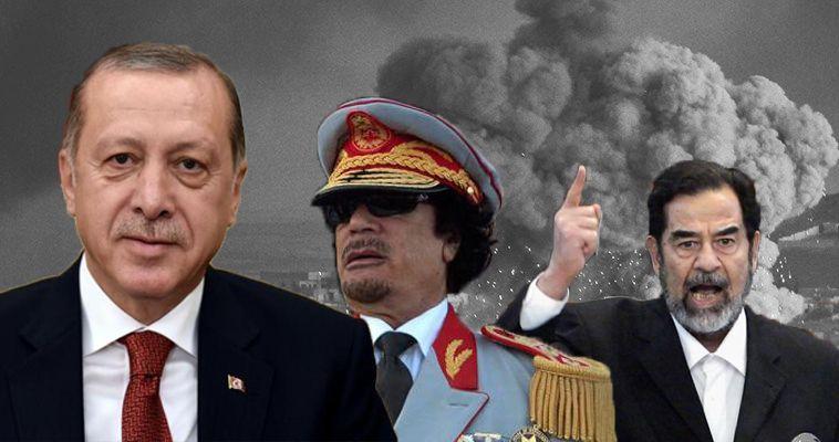 Γράφει ο Απόστολος Αποστολόπουλος – Ο Σαντάμ, ο Καντάφι και ο Ερντογάν έχουν ένα κοινό σημείο. Προκάλεσαν, έβγαλαν γλώσσα, επιδίωξαν κέρδη και εξουσία χωρίς έγκριση από την Υπερδύναμη, τις ΗΠΑ. Το γεγονός ότι ο Καντάφι έγινε στο τέλος πρόβατο δεν τον ωφέλησε. Οι αυτοκρατορίες δεν ξεχνούν και κυρίως δεν συγχωρούν την αναίδεια. Ο Σαντάμ δεν κατάλαβε ότι δεν φτάνει να είσαι πιστός και πειθήνιος. Αν απλώσεις το χέρι σου μακρύτερα από τα γούστα του Άρχοντα, είσαι καταδικασμένος. Ο Ερντογάν έχει […]