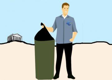 Οικονομία-σκουπίδι θέλει τον... σκουπιδιάρη της, Κωνσταντίνος Κόλμερ