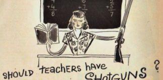 Με όπλα οι δάσκαλοι στην τάξη, Sally Edelstein