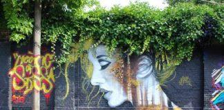 Όταν η τέχνη του δρόμου αλληλεπιδρά με τη φύση