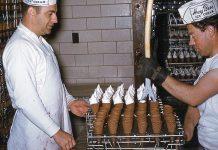 Τα εργοστάσια παγωτού στην δεκαετία του 1950