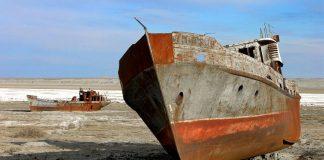 Η θάλασσα της Αράλης συρρικνώνεται