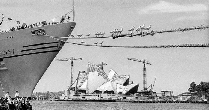Η κατασκεύη της Όπερας του Σίδνεϊ διήρκησε μια δεκαετία