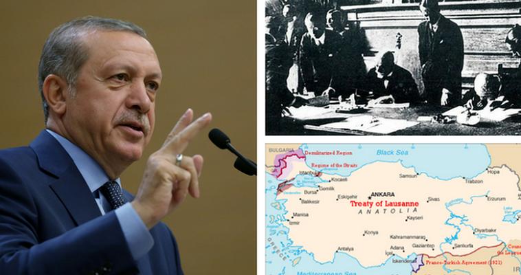 Γράφει ο Σταύρος Λυγερός – Λίγο καιρό μετά το αποτυχημένο πραξικόπημα τον Ιούλιο του 2016, ο Ερντογάν είχε πει στο Υπουργικό του Συμβούλιο ότι η περιοχή έχει εισέλθει σε μία νέα εποχή, η οποία χαρακτηρίζεται από γεωπολιτική ρευστότητα. Όπως χαρακτηριστικά είχε υπογραμμίσει η Τουρκία ή θα χάσει ή θα κερδίσει εδάφη, προσθέτοντας ότι αυτός θα αγωνισθεί για να κερδίσει. Με αυτό το πρίσμα πρέπει να διαβαστεί η επανειλημμένη δήλωσή του ότι η συνθήκη της Λωζάννης πρέπει να αναθεωρηθεί. Εκείνες οι […]