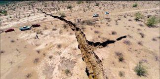 Το έδαφος του Ναϊρόμπι χωρίστηκε στα δύο