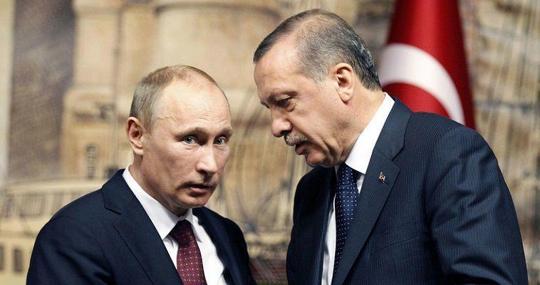 Μονόδρομος για τον Ερντογάν η «αγκαλιά» του Πούτιν