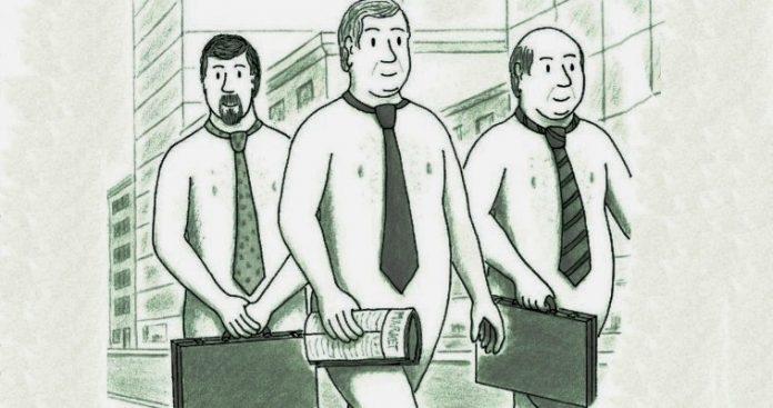 Ο Τραπεζίτης είναι γυμνός, Κωνσταντίνος Κόλμερ