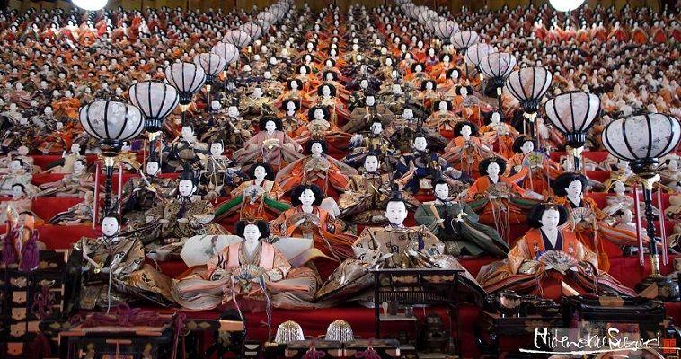 Το φεστιβάλ κούκλας στην Ιαπωνία με τις χιλιάδες φιγούρες