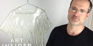 Μπλουζάκια από γυαλί λένε την ιστορία ενός ανθρώπου