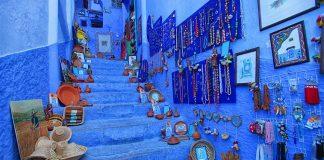 Η πιο χρωματιστή πόλη βρίσκεται στο Μαρόκο