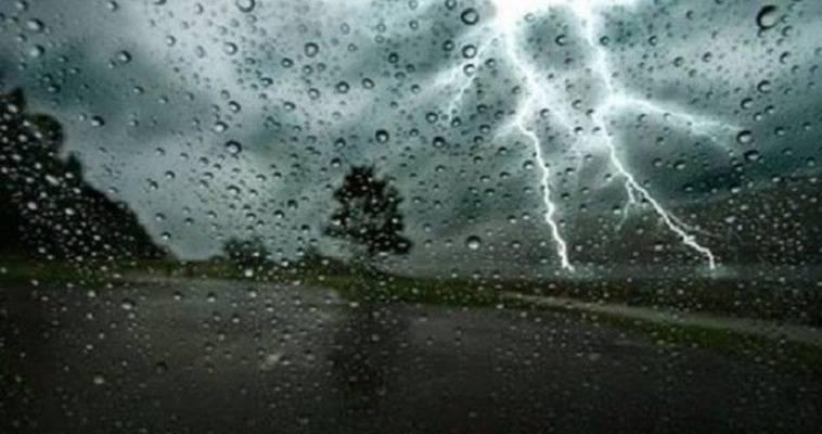 Κυκλοφοριακή συμφόρηση από την καταιγίδα