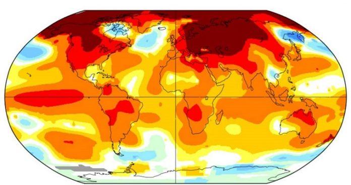 Θερμοκρασίες φωτιά καίνε τον πλανήτη