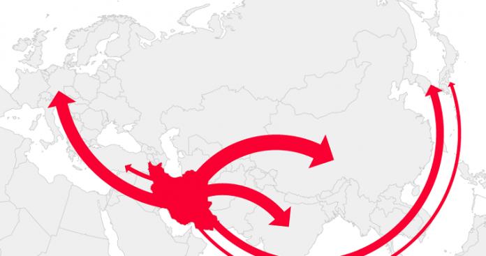 Ιρανικό πετρέλαιο, αμερικανικές κυρώσεις και ευρωπαϊκή παρακαμπτήριος, slpress