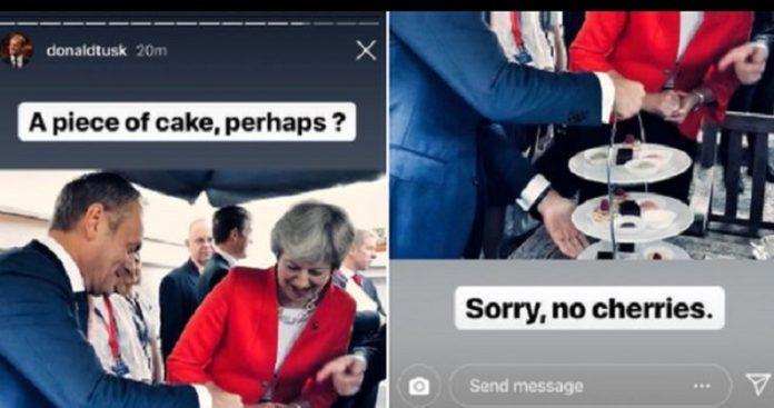 Το Brexit, η Μέι και το κερασάκι στην τούρτα,