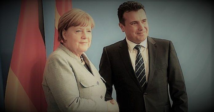 Η Μέρκελ στα Σκόπια και ο Τσίπρας στη