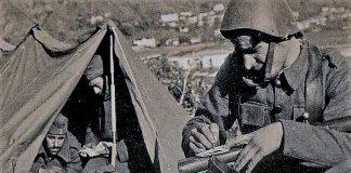 Πατάξατε τους δειλούς του ελληνοϊταλικού πολέμου - Η διαταγή του διοικητή, Βαγγέλης Γεωργίου