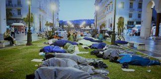 Το προσφυγικό καμπ της Αριστοτέλους και η οικονομική κακοδιαχείριση, Νεφέλη Λυγερού
