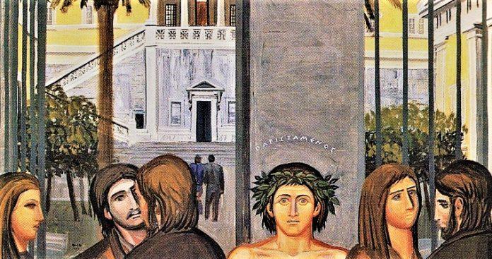 Οι εικαστικοί για το Πολυτεχνείο, Δημήτρης Παυλόπουλος