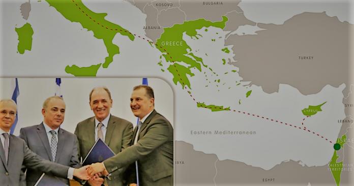 Ο EastMed συνδέει δύο γεωπολιτικούς άξονες, Μάκης Ανδρονόπουλος