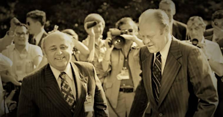 Ελσίνκι 1975: Φόρντ, Ντεμιρέλ, Καραμανλής και Μακάριος, Κώστας Βενιζέλος