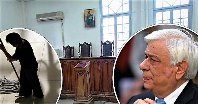 Οι Ιαβέρηδες της Δικαιοσύνης ξέσπασαν σε μια καθαρίστρια, Μάκης Ανδρονόπουλος