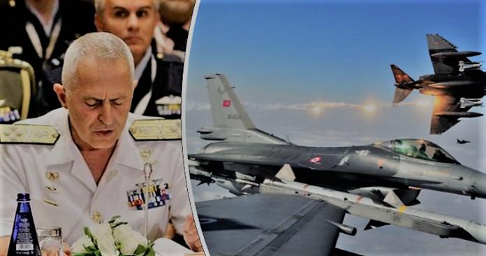 Με μαζικές παραβιάσεις απάντησαν οι Τούρκοι στο ναύαρχο Αποστολάκη, Νεφέλη Λυγερού