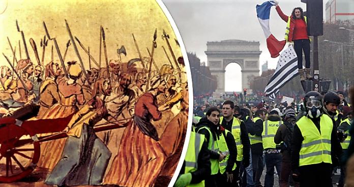 Γαλλία 2018: Ανάμεσα στην εξέγερση και το Διευθυντήριο, Βαγγέλης Σαρακινός