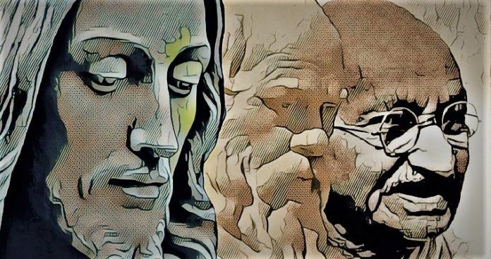 Σωκράτης, Χριστός, Γκάντι: Η συνάντηση, Ηλίας Γιαννακόπουλος