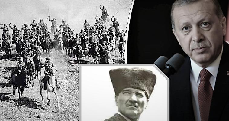 Κε Ερντογάν, ο Ελληνικός Στρατός δεν έπεσε στη θάλασσα το '22!, Βασίλης Κολλάρος
