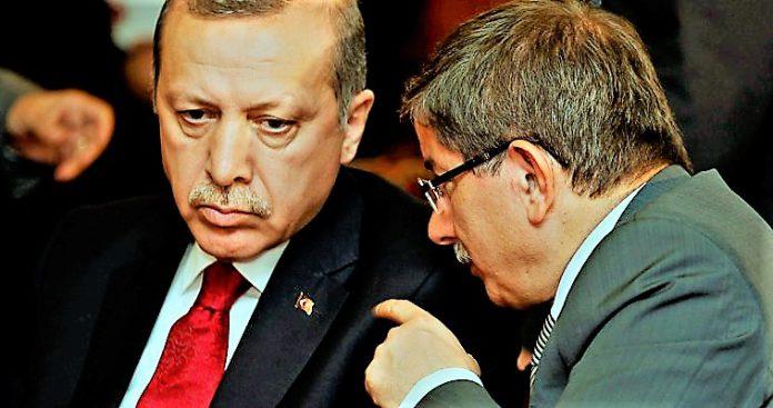 Ο Ερντογάν, ο Νταβούτογλου και η