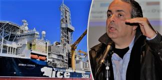 """Το γεωτρύπανο """"STENA ICEMAX"""" πρόδωσε την ExxonMobil, Ηλίας Κονοφάγος"""