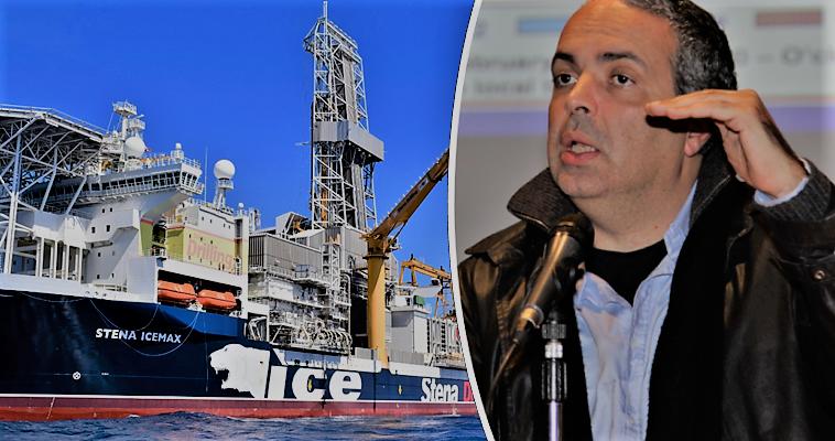Το γεωτρύπανο Stena Icemax πρόδωσε την ExxonMobil
