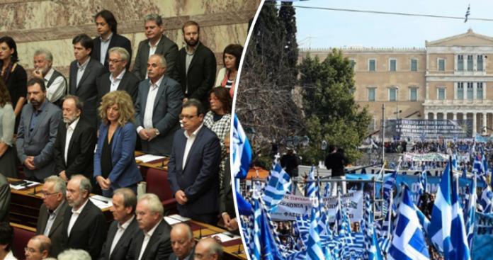 Διχασμένοι στη Βουλή, αποφασισμένοι στην πλατεία για τις
