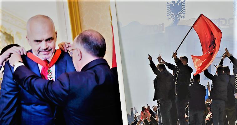 Βαθαίνει η κρίση στην Αλβανία – Σε δυο στρατόπεδα η χώρα , slpress