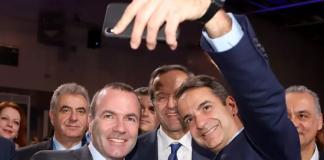 Επόμενος πρωθυπουργός της Ελλάδας ο Μητσοτάκης, εκτιμά ο Βέμπερ