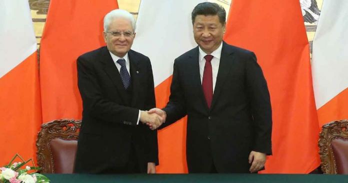 Η Ιταλία προσχωρεί στον κινεζικό