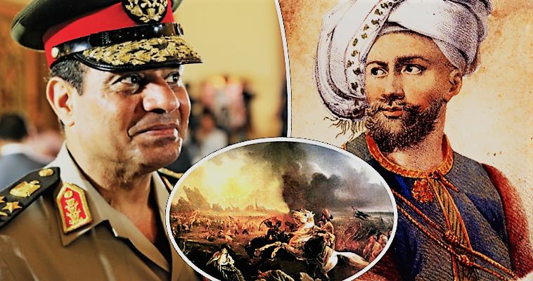 Ελλάδα-Αίγυπτος: Από τον εχθρό Ιμπραήμ στον σύμμαχο Σίσι, Βασίλης Κολλάρος