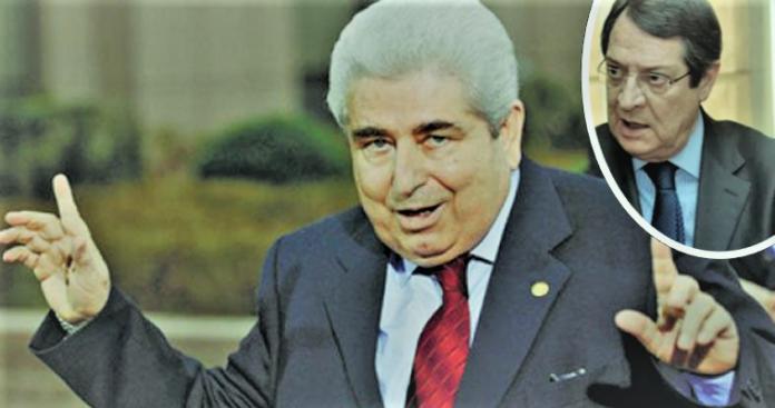 Μετάθεση ευθύνης - Ο Αναστασιάδης στα χνάρια του Χριστόφια, Κώστας Βενιζέλος