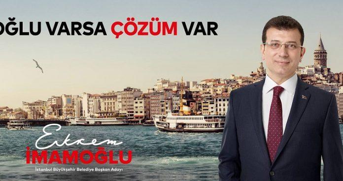 Ο Ιμάμογλου επικρίνει τον Ερντογάν για την απαγόρευση κυκλοφορίας