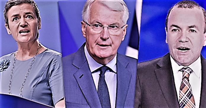 Η Επίτροπος Βεστάγκερ, ο άπειρος Βέμπερ και ο σταθερός Μπαρνιέ, Βαγγέλης Σαρακινός