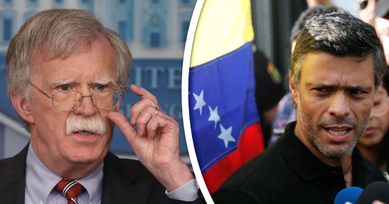 """Λόπεζ: Ο άνθρωπος του Μπόλτον πίσω από το """"πραξικόπημα"""" στη Βενεζουέλα, Νεφέλη Λυγερού"""