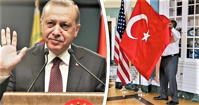 Ερντογάν: Το προϊόν μιας κραυγαλέας αμερικανικής