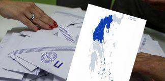 Πρωτοφανής 'γαλάζια' κυριαρχία στην Αυτοδιοίκηση με αποχή ρεκόρ